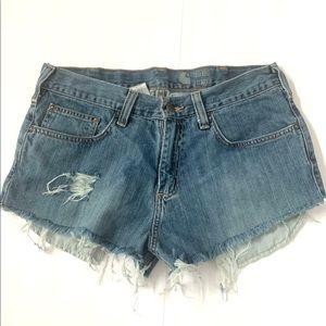 Carhartt cutoffs jean shorts size 31